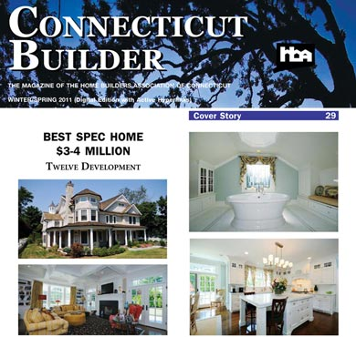 See our Feature in Connecticut Builder Magazine