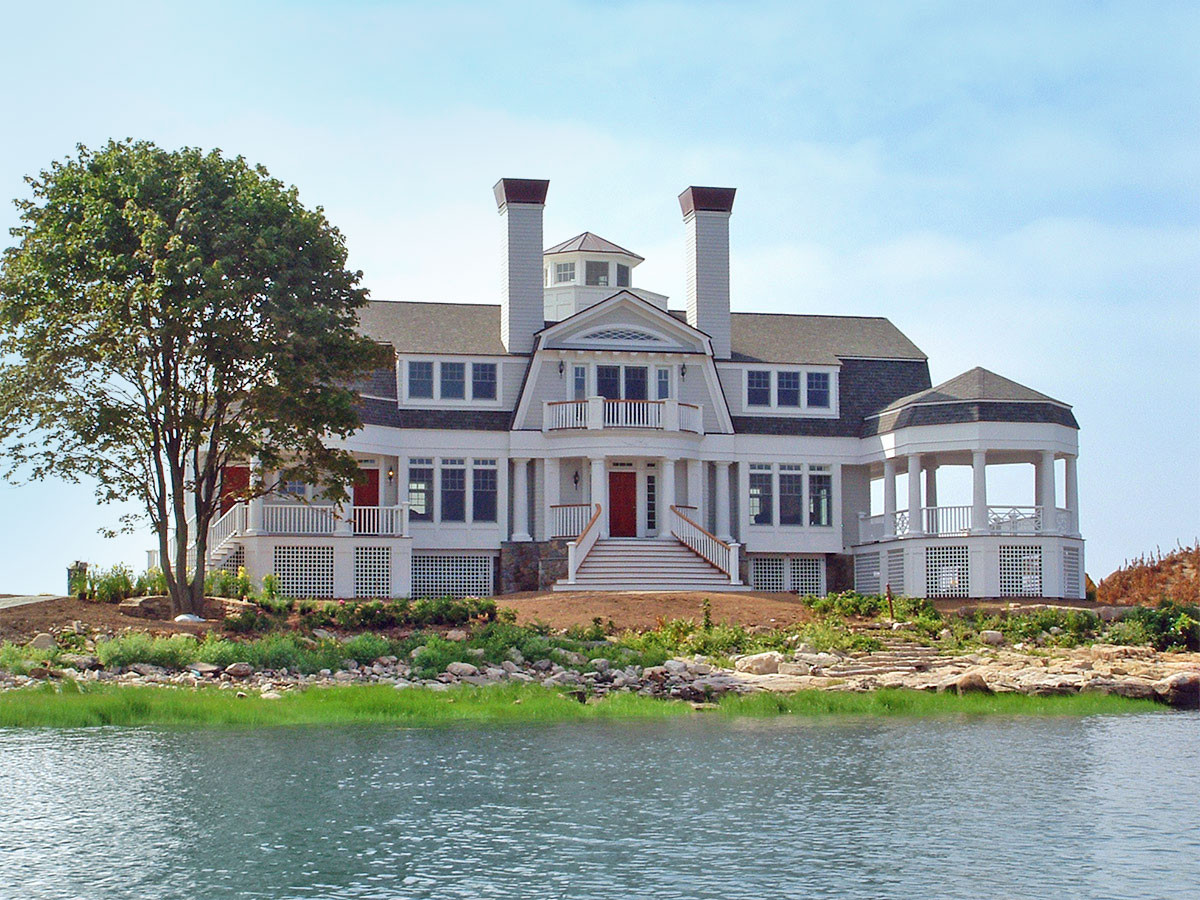 Modular Home Fortress Survives Irene Hit