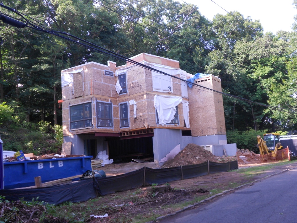 Progress Report: Scarsdale Contemporary Modular Home